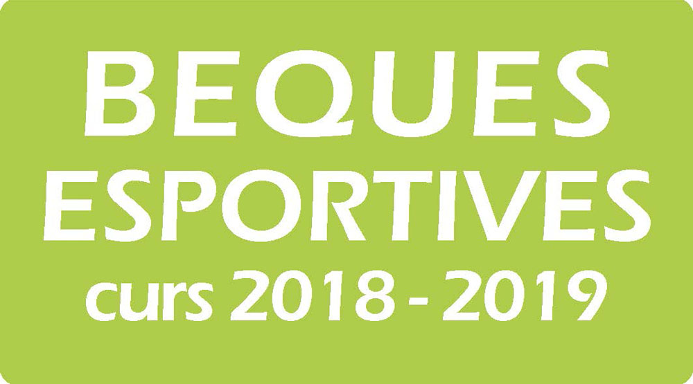 Beques Esportives 2018-19