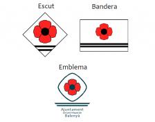 Escut, Bandera i Emblema